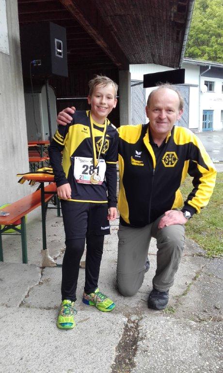 Julian Sicklinger, schnellster über 5km
