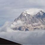 Blick zum Dachsteinmassiv