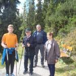 Hannes, Xaver, Erwin und Margit