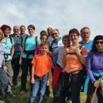 Wandergruppe am Roßfeld