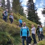 Aufstieg zum Roßfeld